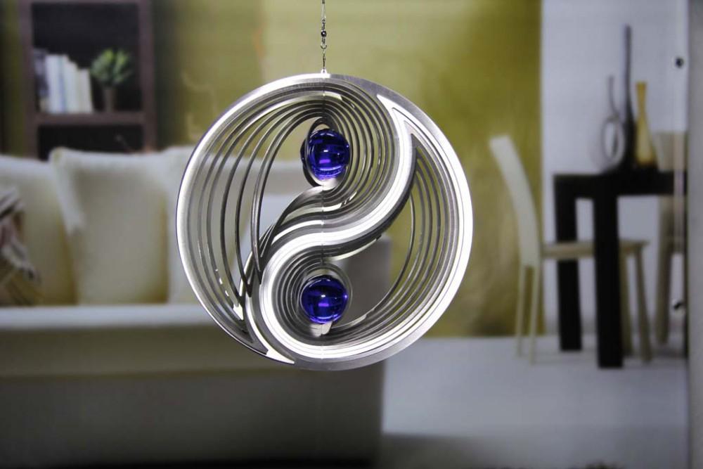 gabrieles toepferfstudio windspiel yin yang kugeln 35 mm 234 mm. Black Bedroom Furniture Sets. Home Design Ideas